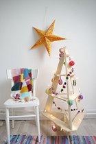 Scandinavische houten 3d kerstboom large