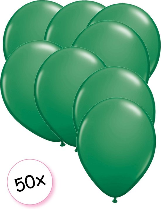 Ballonnen Groen 50 stuks 27 cm
