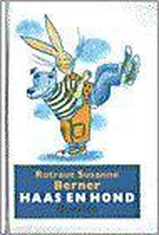 Boek cover Haas en hond van Rotraut Susanne Berner (Hardcover)