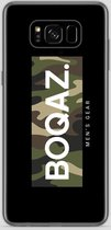 BOQAZ. Samsung Galaxy S8 hoesje - Labelized Collection - Camouflage print BOQAZ