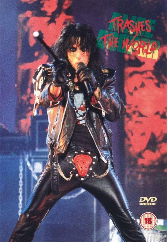 Cover van de film 'Alice Cooper - Trashes The World'