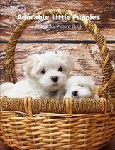 Adorable Little Puppies Full-Color Picture Book