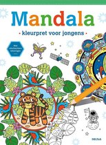 Deltas Mandala - Kleurpret Voor Jongens