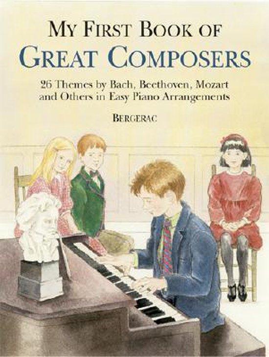 Boek cover My First Book Of Great Composers van Bergerac (Paperback)