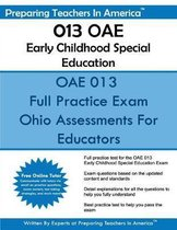 013 OAE Early Childhood Special Education