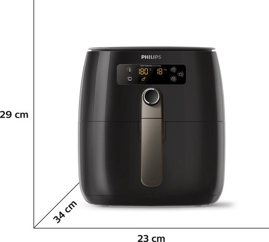 Philips Viva Airfryer HD9721/20 - Hetelucht friteuse - Wit