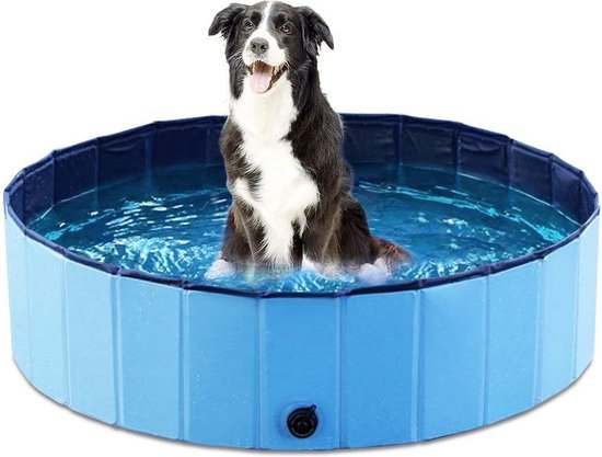 Zwembadje voor honden - Hondenzwembad - Bad voor Honden, Huisdieren - Opzetzwembad - 120x120x30cm