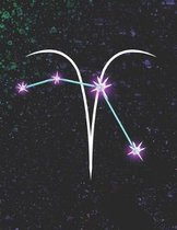 Aries Astrological Zodiac Sign Notebook