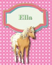 Handwriting and Illustration Story Paper 120 Pages Ella