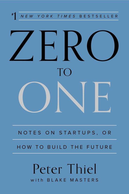 Boek cover Zero to One van Peter Thiel (Paperback)