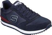Skechers Sunlite Waltan Heren Sneakers - Blauw - Maat 47.5