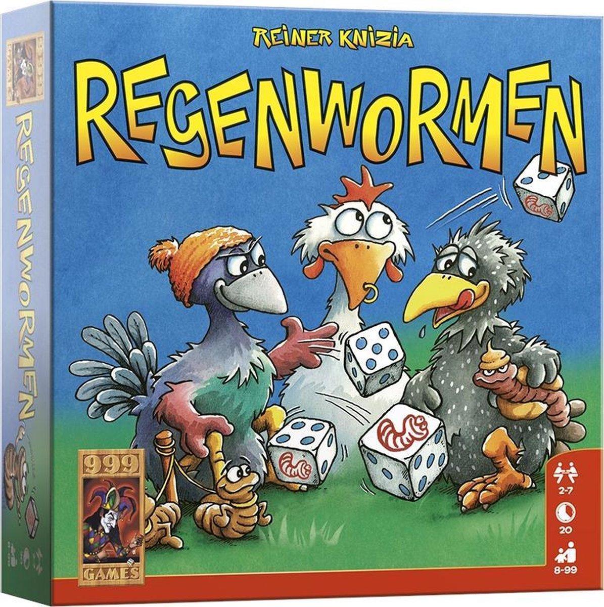 Regenwormen - Dobbelspel - 999 Games