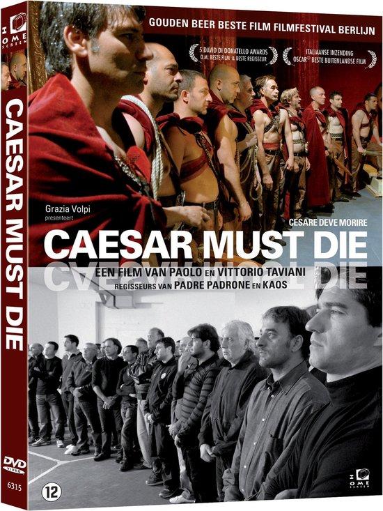 Cover van de film 'Caesar Must Die'