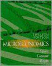Boek cover Microeconomics van Richard G. Lipsey