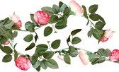 Ginger Ray Rustic Country - Bloemen slinger roze - 2 meter
