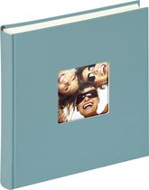 Walther Design FA-208-K Fun - Fotoalbum - 30 x 30 cm - Petrol Groen - 100 pagina's