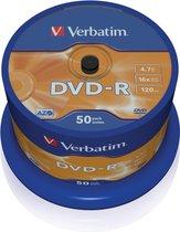 DVD-R Matt Silver, 16x, 50pcs