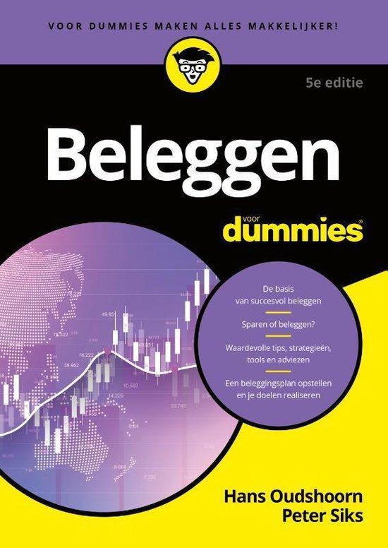 Boek cover Beleggen voor Dummies van Hans Oudshoorn (Paperback)