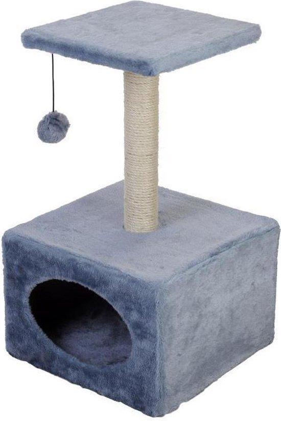 Kattenspeeltoren - Grijs