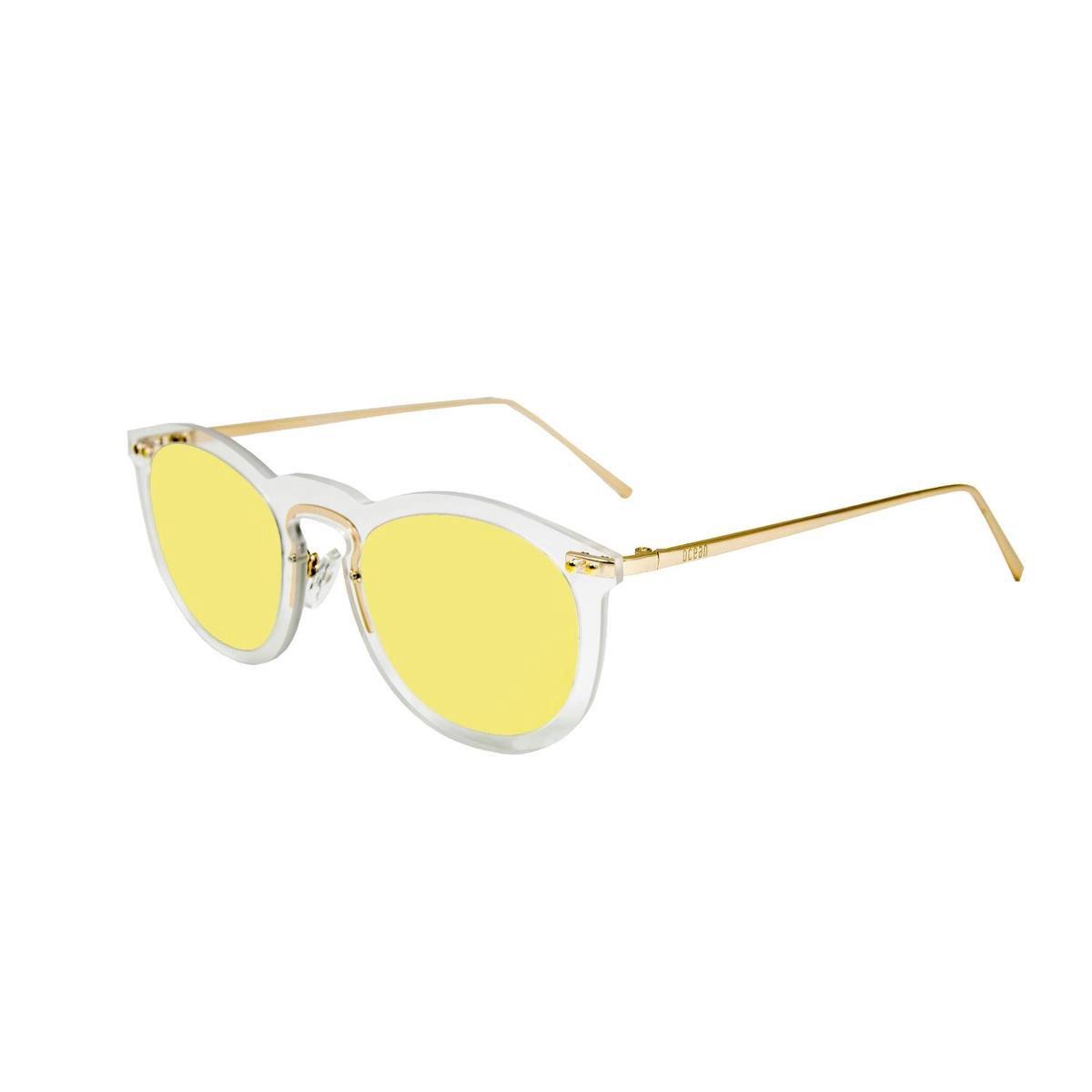 Ocean Sunglasses - HELSINKI - Unisex Zonnebril Geel - Ocean Sunglasses