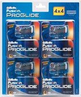 Gillette Fusion Proglide Manual - 16 stuks - Scheermesjes