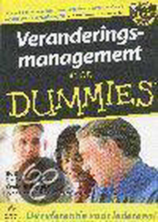 Voor Dummies - Veranderingsmanagement voor Dummies - B. Evard pdf epub