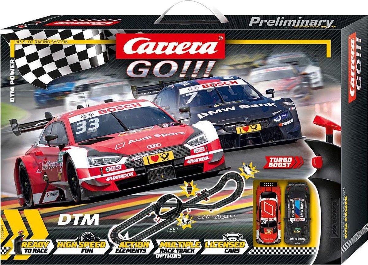 Carrera GO!!! DTM Power- Racebaan