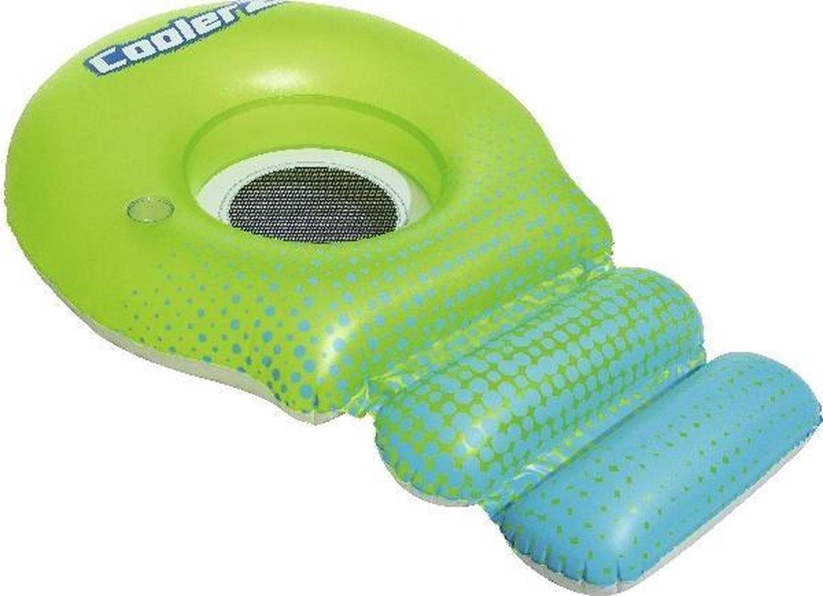 Bestway Loungestoel Coolerz Super Sprawler Groen/blauw