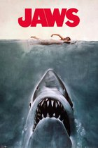 Jaws poster-  Steven Spielberg  61x91.5cm.