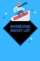 Snowboard Bucket List
