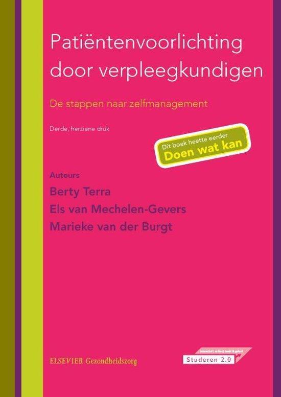 Patientenvoorlichting Door Verpleegkundigen - Berty Terra  