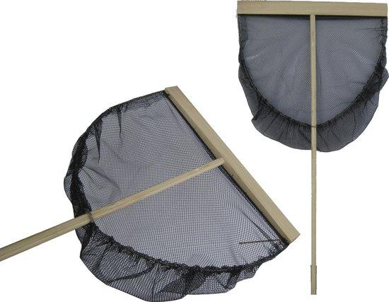 Garnalennet 50cm Zwart Net