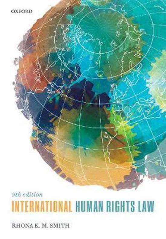 Boek cover International Human Rights Law van Rhona K. M. Smith (Paperback)