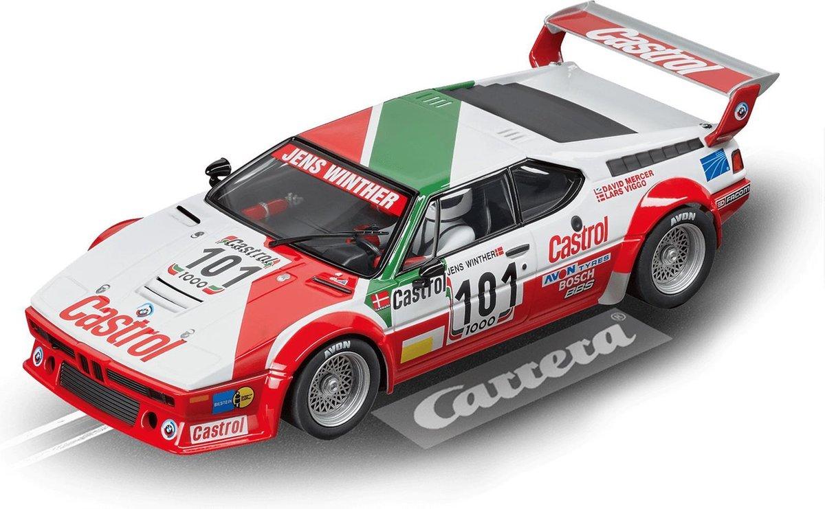 "Carrera DIG124 BMW M1 Procar ""Team Castrol Denmark, No.101"" - Racebaanauto"
