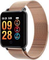 QY19 - Smartwatch - sporthorloge – Goud