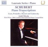 Schubert: Piano Transcriptions