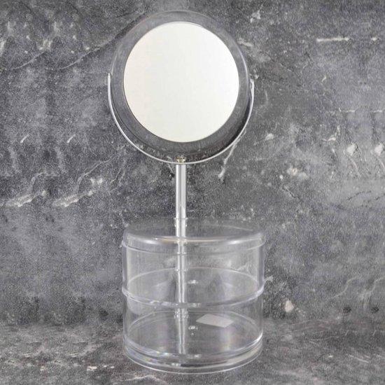 Make-up Spiegel (3xVergroting) met acryl bakjes - Gerard Brinard