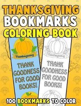 Thanksgiving Bookmarks Coloring Book