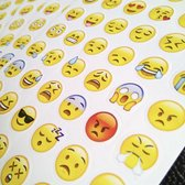 Smiley Emoji Stickers | 5 velletjes | 240 stickers
