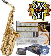 JAS700Q Sax Coach Set Goldlack