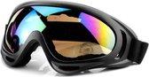 Skibril - Snowboardbril - UV Beschermend - Verstelbare Ski/Snowboard bril - Unisex - Multi glas