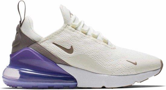 Nike W Air Max 270 Beige / Paars - Sames Sneaker - Maat 38
