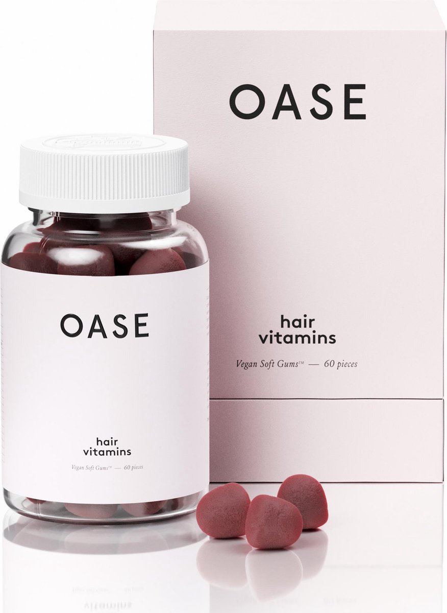 OASE Hair Vitamins Vegan Soft Gums  Voedingssupplement - 60 gummies