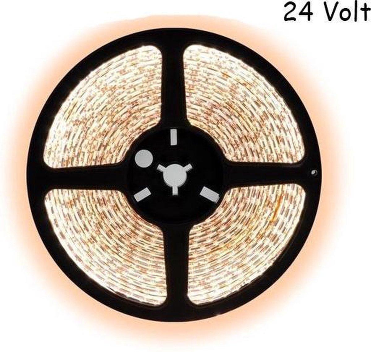 2,5 meter warm wit led strip - 60Leds/m - 24V