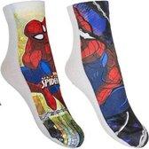 Spiderman sokken duopack ( maat 27-30 )
