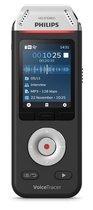 Philips Voice Tracer DVT2110/00 dictaphone Flashkaart Zwart, Chroom