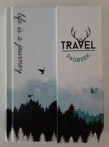 Travel Dagboek Reisdagboek pocket, DS - Reis Dagboek voor onderweg