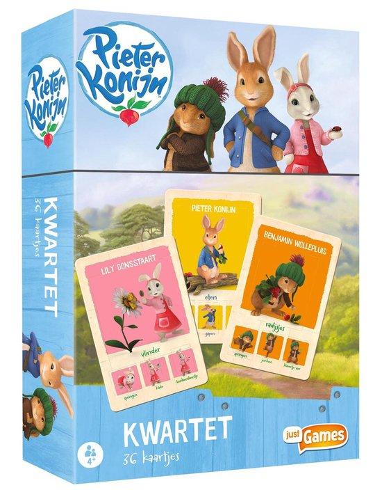 Afbeelding van het spel Pieter Konijn - kwartet