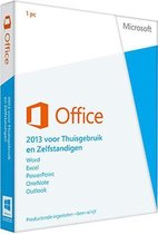 Office Home and business 2013 - retailverpakking -