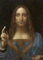 Poster Salvator Mundi - Leonardo Da Vinci - 70x50 cm - Jezus Christus - Christendom